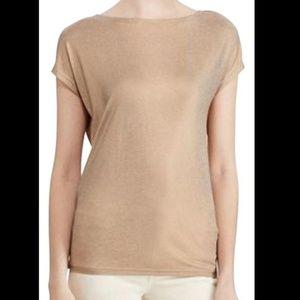 Bronze Jersey Metallic T-Shirt